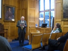 RI Moore gives the 2014 SAIMS Lecture