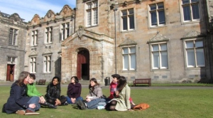 Cold St Andrews Students