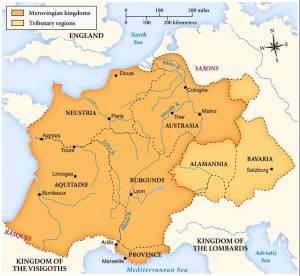 Merovingian Map